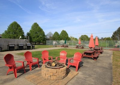 Fire Pit & BBQ Area