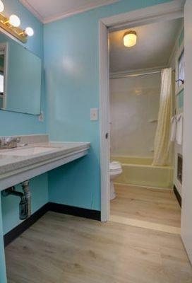 Standard Double Vanity & Bath
